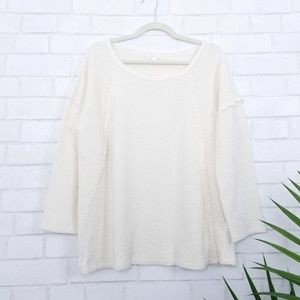 Soft Joie | Cream Knit Oversized Sweater